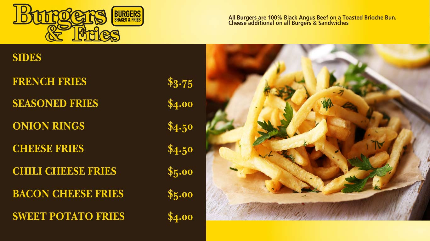 Burgers and Fries in Atlantic City