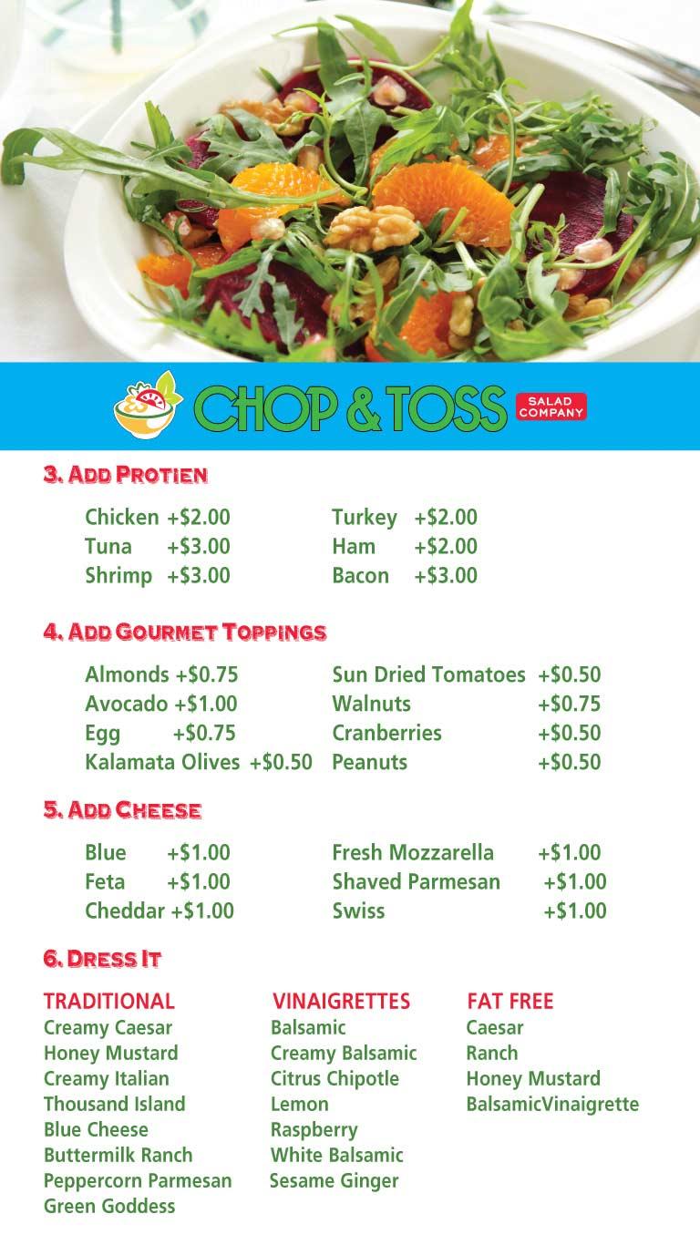 Fresh Salads Atlantic City